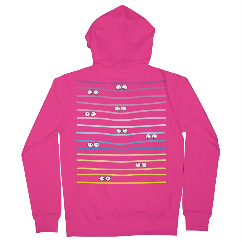 Watching you Men's French Terry Zip-Up Hoody by cindyshim's Artist Shop