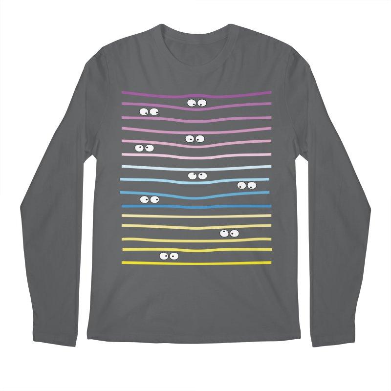 Watching you Men's Regular Longsleeve T-Shirt by cindyshim's Artist Shop