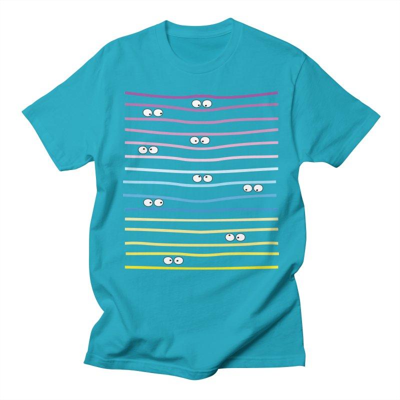 Watching you Men's Regular T-Shirt by cindyshim's Artist Shop