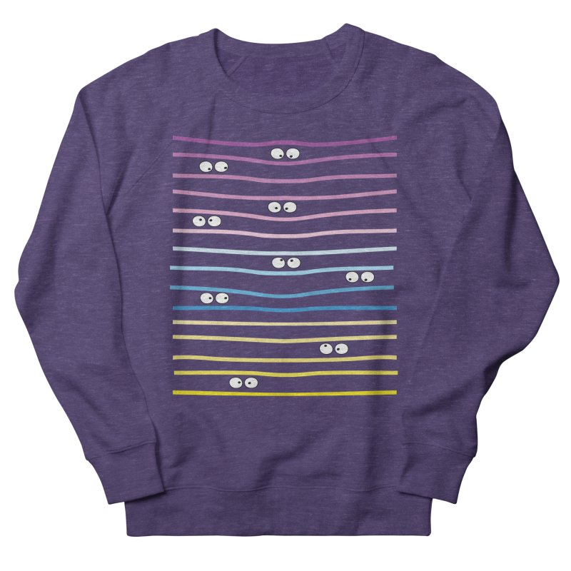 Watching you Women's French Terry Sweatshirt by cindyshim's Artist Shop