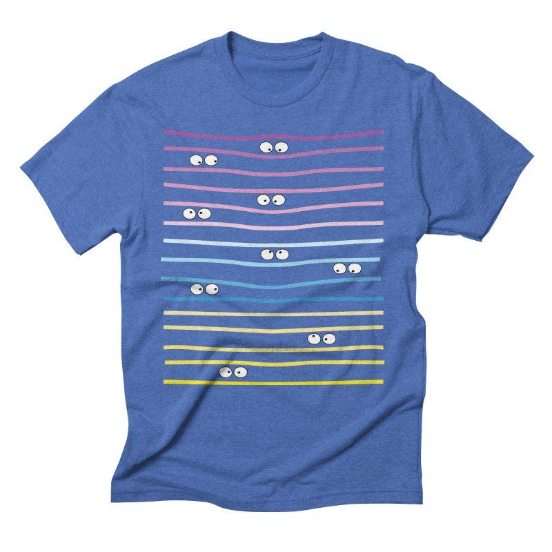 Watching you Men's Triblend T-Shirt by cindyshim's Artist Shop