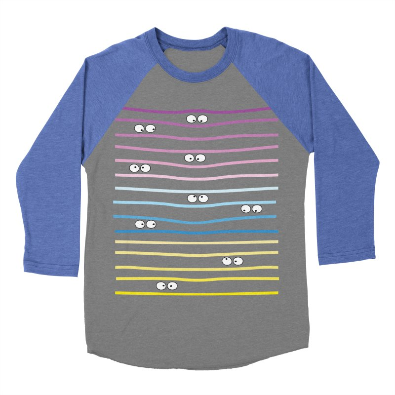 Watching you Women's Baseball Triblend Longsleeve T-Shirt by cindyshim's Artist Shop