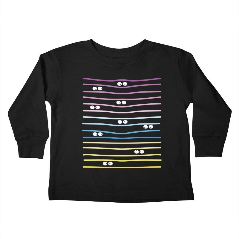 Watching you Kids Toddler Longsleeve T-Shirt by cindyshim's Artist Shop