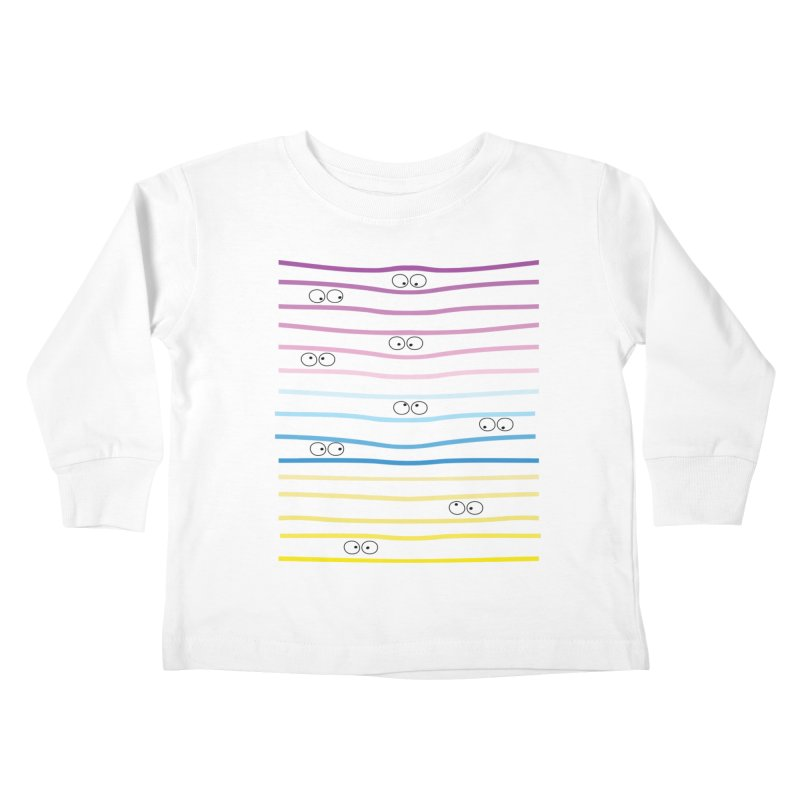 Watching you Kids Toddler Longsleeve T-Shirt by cindyshim's Artist Shop