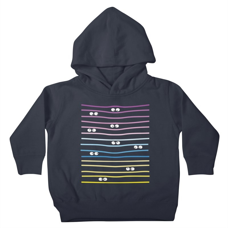 Watching you Kids Toddler Pullover Hoody by cindyshim's Artist Shop