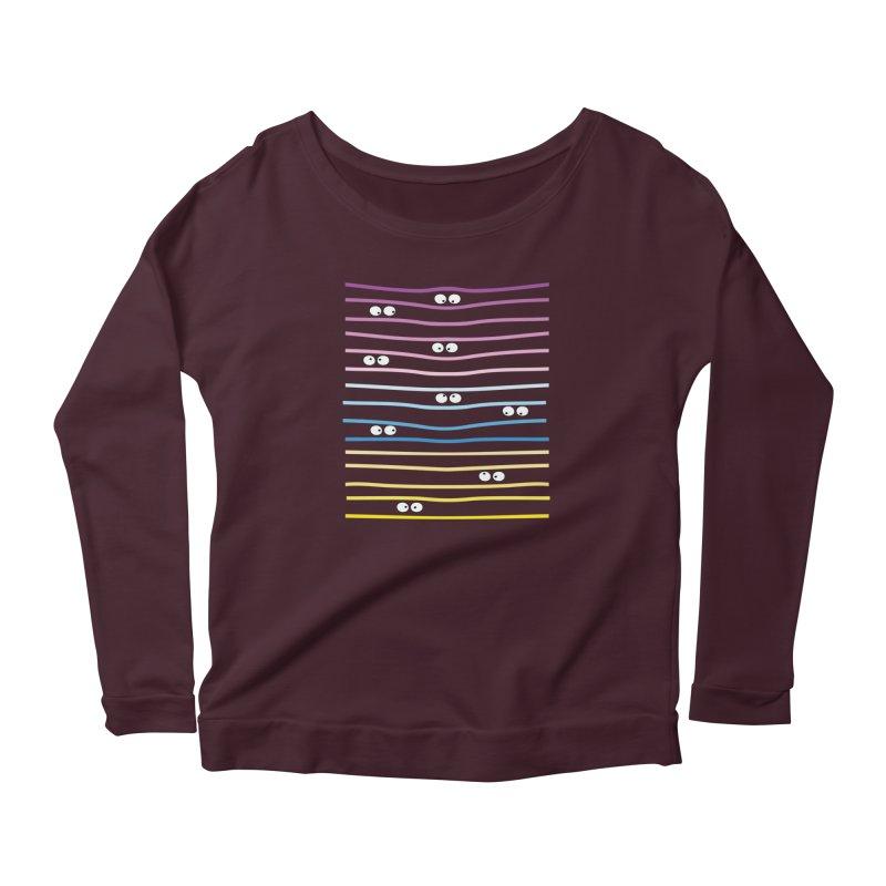 Watching you Women's Longsleeve T-Shirt by cindyshim's Artist Shop