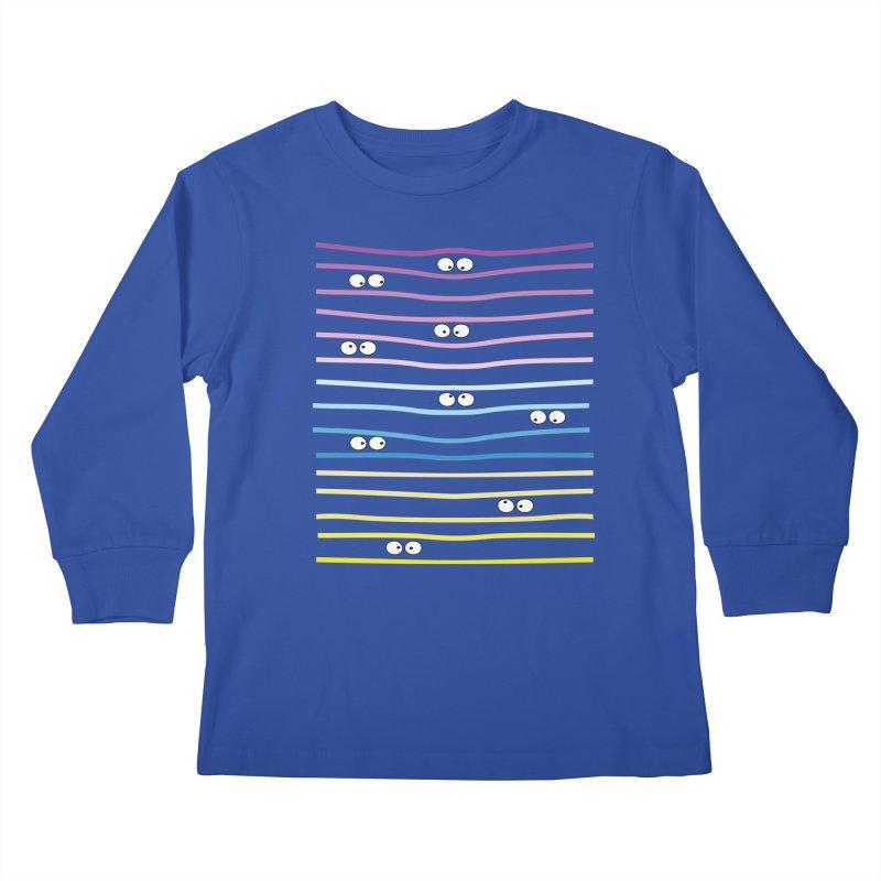 Watching you Kids Longsleeve T-Shirt by cindyshim's Artist Shop