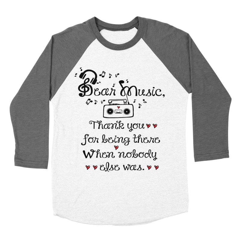 Dear music Women's Longsleeve T-Shirt by cindyshim's Artist Shop