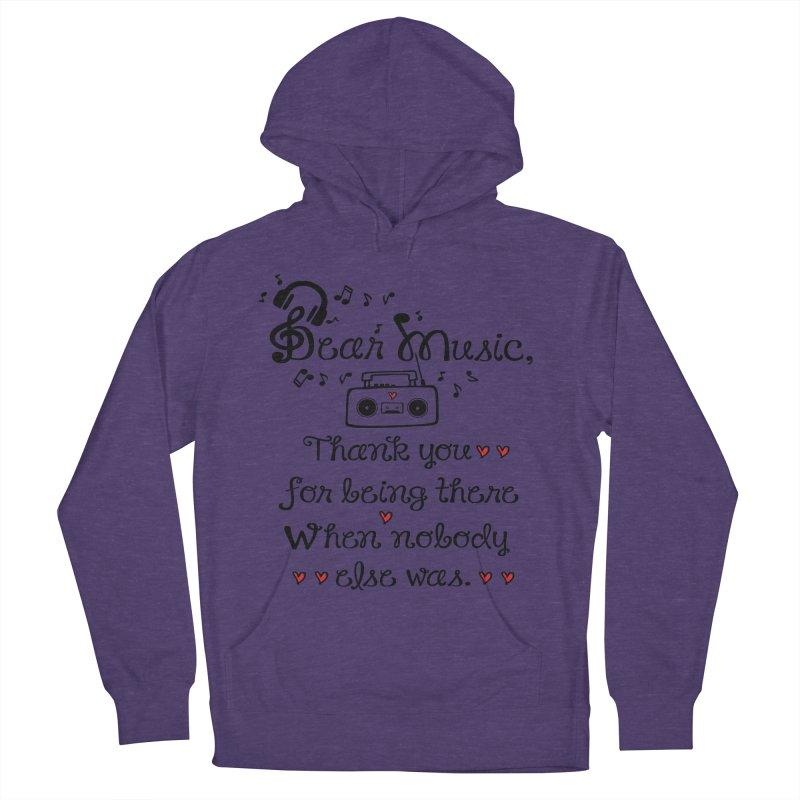 Dear music Women's Pullover Hoody by cindyshim's Artist Shop