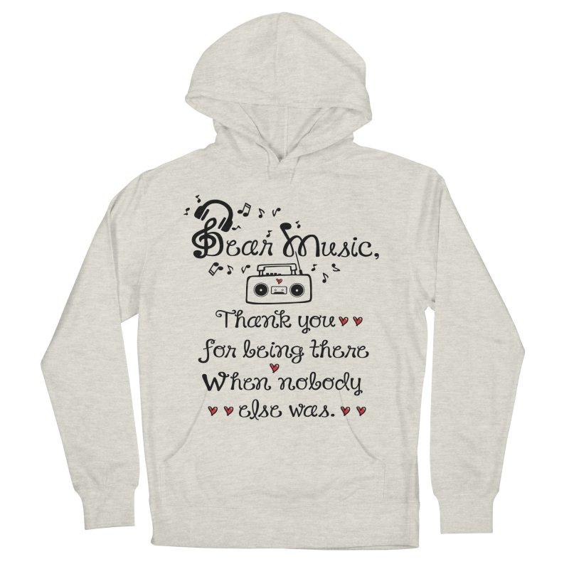 Dear music Men's Pullover Hoody by cindyshim's Artist Shop