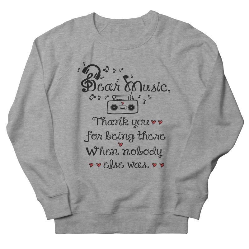 Dear music Men's Sweatshirt by cindyshim's Artist Shop