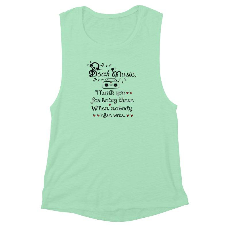 Dear music Women's Muscle Tank by cindyshim's Artist Shop