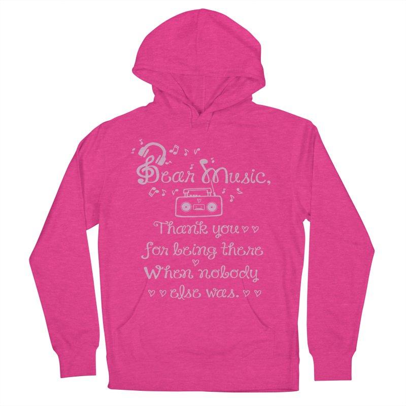 Dear music, thank you Men's Pullover Hoody by cindyshim's Artist Shop