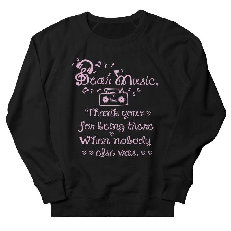 Dear music, thank you Men's Sweatshirt by cindyshim's Artist Shop