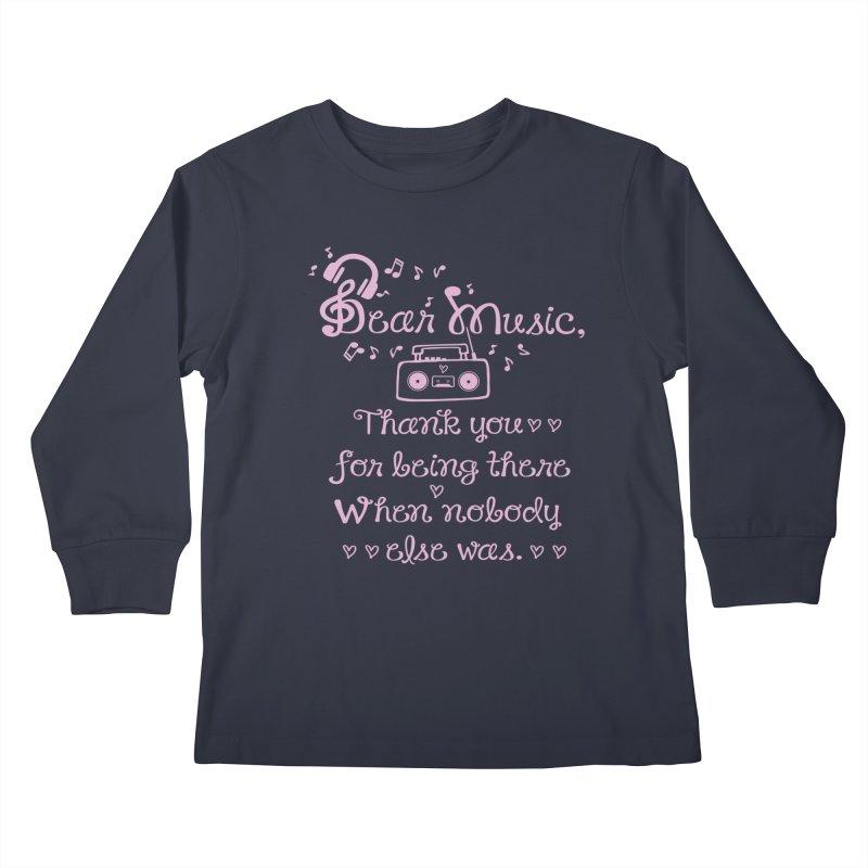 Dear music, thank you Kids  by cindyshim's Artist Shop
