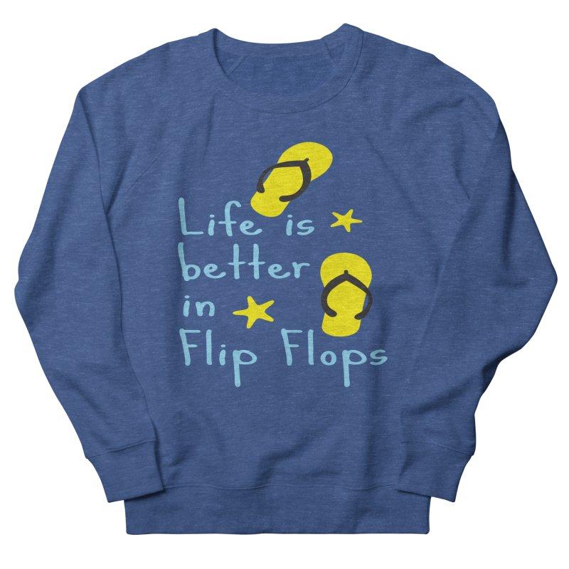 Life is better in flip-flops Women's  by cindyshim's Artist Shop