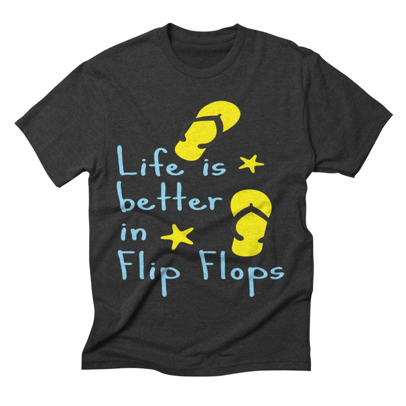 Life is better in flip-flops   by cindyshim's Artist Shop