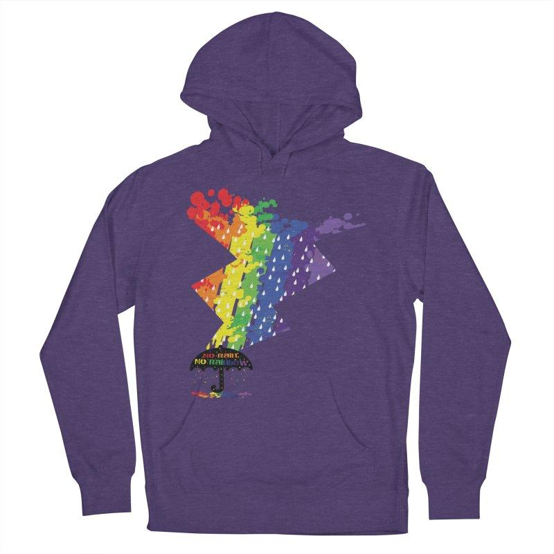 No rain no rainbow Men's Pullover Hoody by cindyshim's Artist Shop