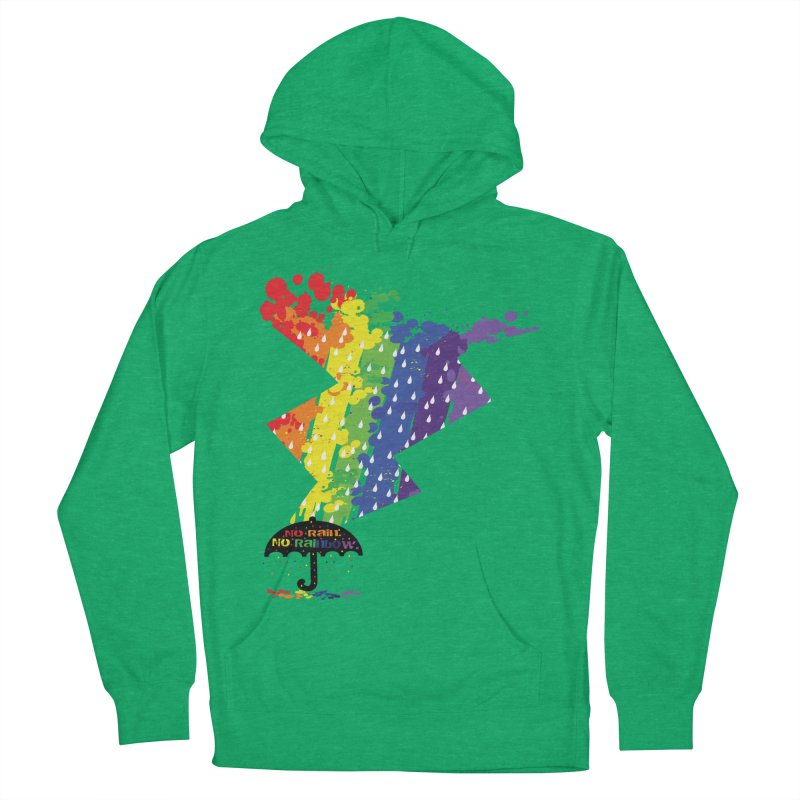 No rain no rainbow Women's Pullover Hoody by cindyshim's Artist Shop