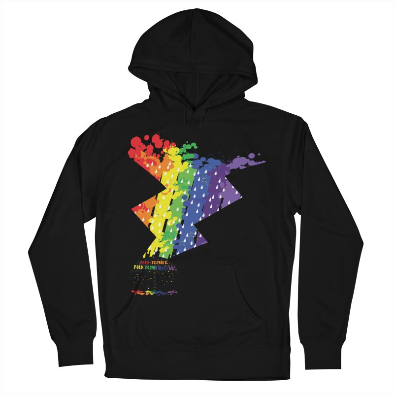 No rain no rainbow Men's Pullover Hoody by cindyshim's Artist Shop
