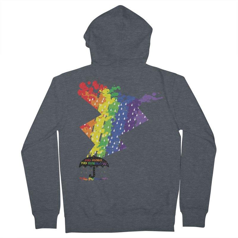 No rain no rainbow Women's Zip-Up Hoody by cindyshim's Artist Shop