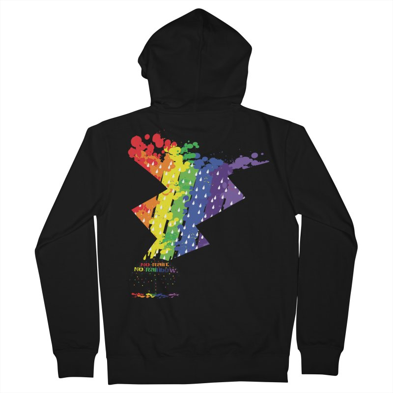 No rain no rainbow Women's Zip-Up Hoody by cindyshim's Artist Shop