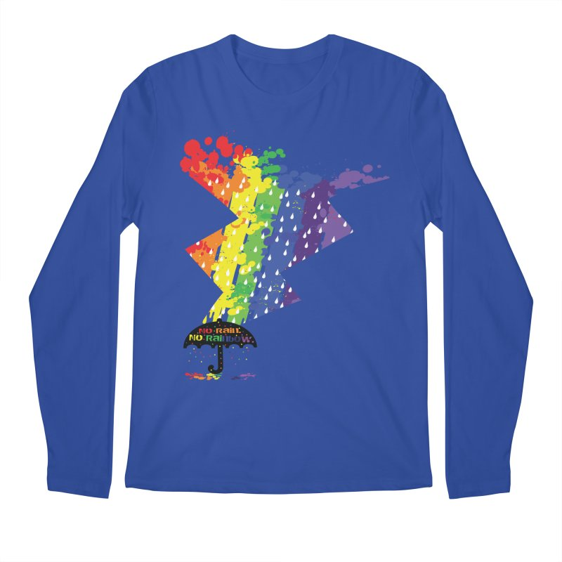 No rain no rainbow Men's Longsleeve T-Shirt by cindyshim's Artist Shop