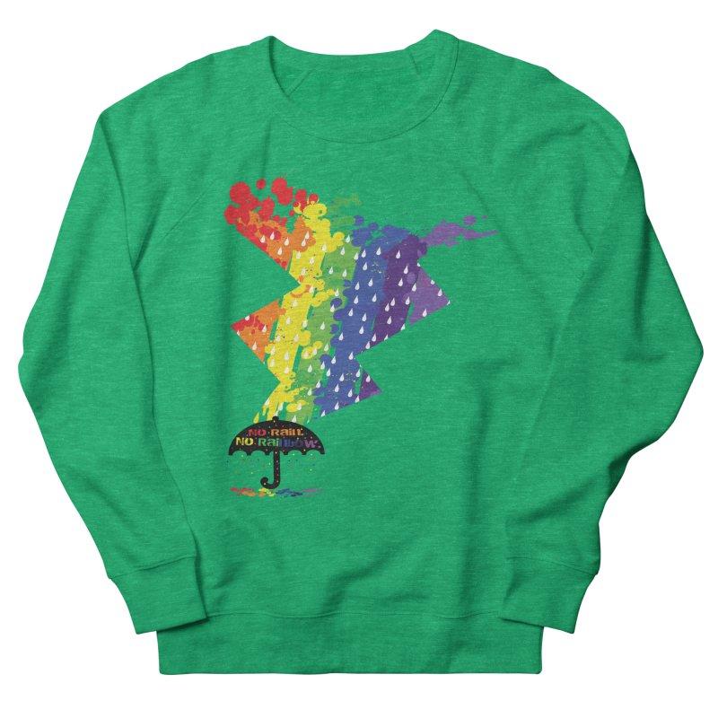 No rain no rainbow Men's Sweatshirt by cindyshim's Artist Shop