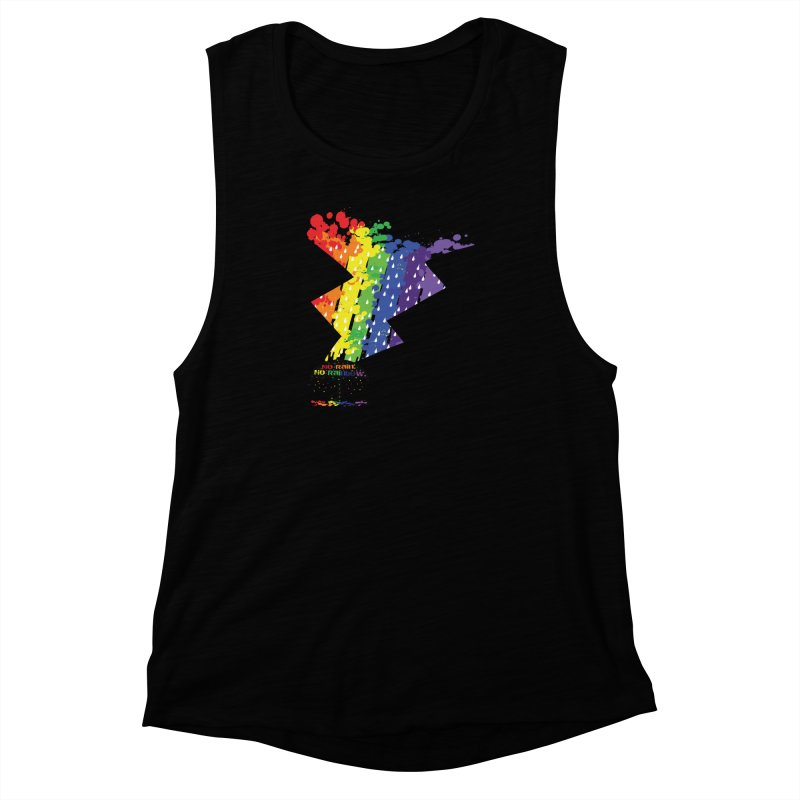 No rain no rainbow Women's Muscle Tank by cindyshim's Artist Shop