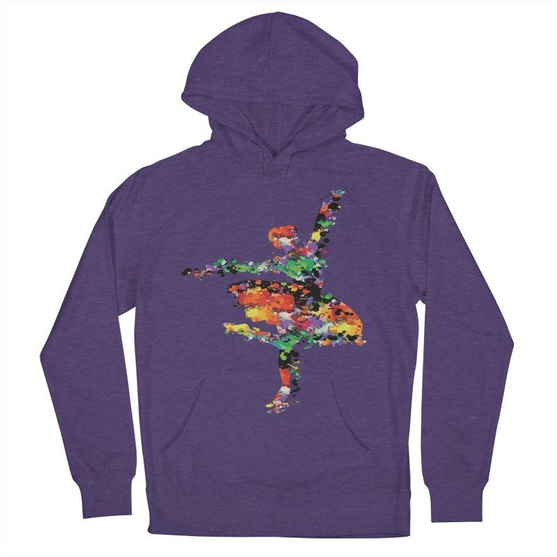 splash ballerina Men's Pullover Hoody by cindyshim's Artist Shop