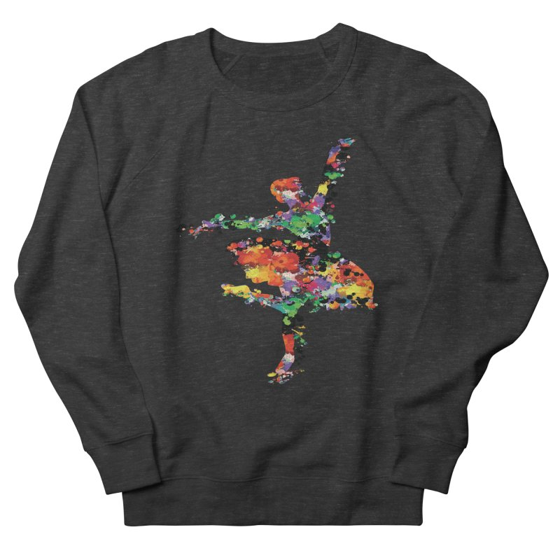 splash ballerina Men's Sweatshirt by cindyshim's Artist Shop