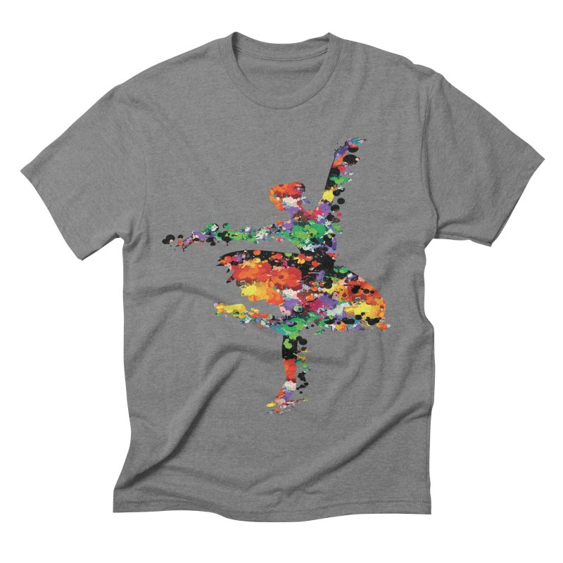splash ballerina Men's Triblend T-shirt by cindyshim's Artist Shop