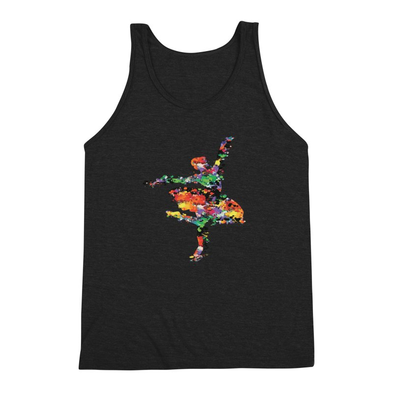 splash ballerina Men's Triblend Tank by cindyshim's Artist Shop