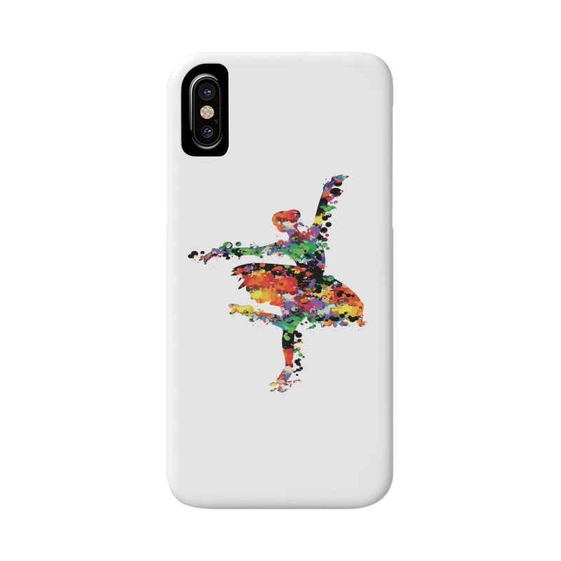 splash ballerina Accessories Phone Case by cindyshim's Artist Shop