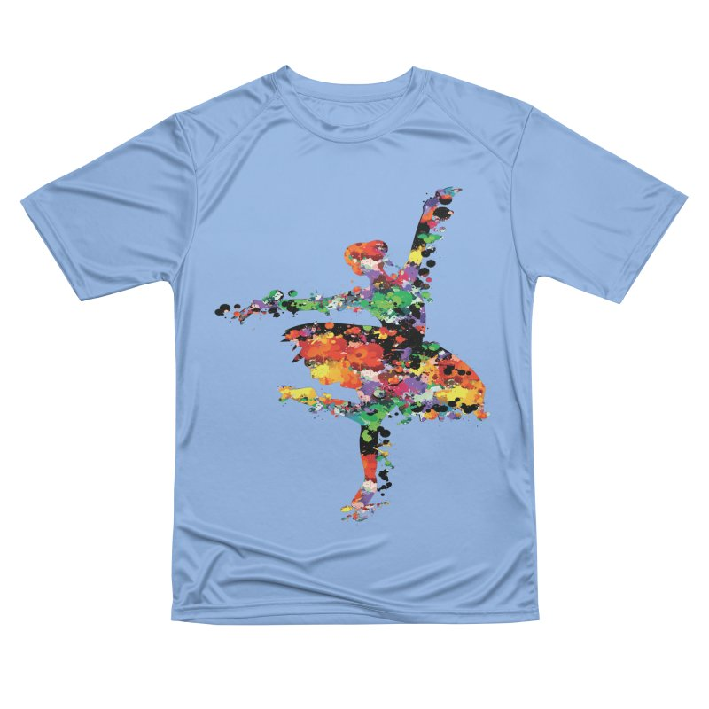 splash ballerina Women's T-Shirt by cindyshim's Artist Shop