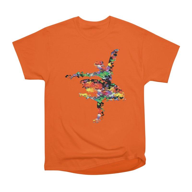 splash ballerina Women's T-Shirt by cindyshim's Artist Shop