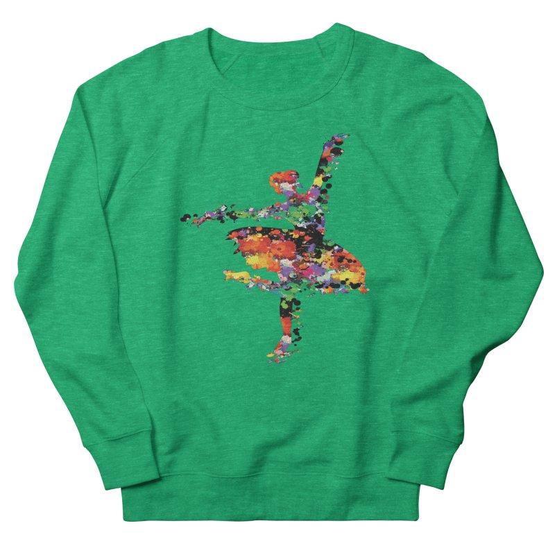 splash ballerina Women's Sweatshirt by cindyshim's Artist Shop