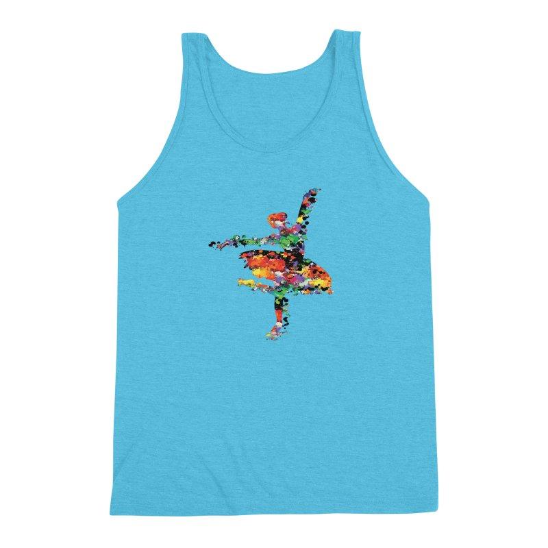 splash ballerina Men's Triblend Tank by cindyshim's Artist Shop