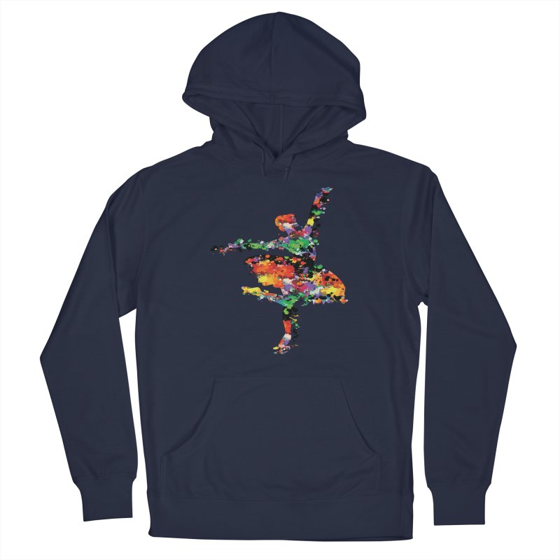 splash ballerina Men's Pullover Hoody by cindyshim's Artist Shop