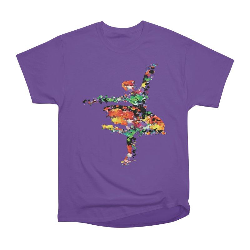 splash ballerina Women's Heavyweight Unisex T-Shirt by cindyshim's Artist Shop