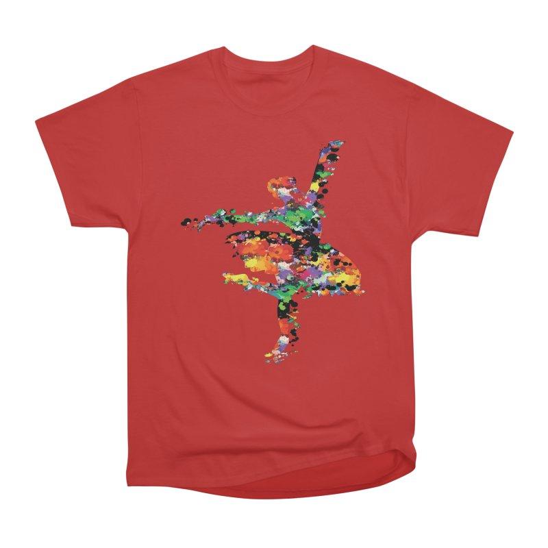 splash ballerina Men's Heavyweight T-Shirt by cindyshim's Artist Shop