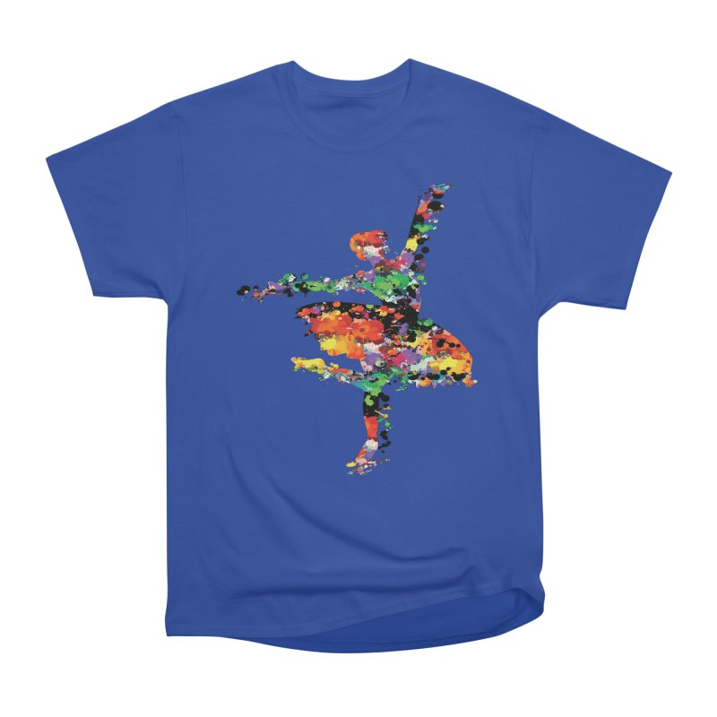 splash ballerina Men's Heavyweight T-Shirt by cindyshim's Artist Shop