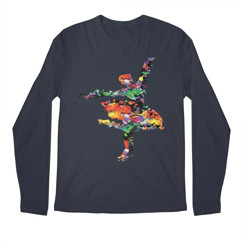 splash ballerina Men's Regular Longsleeve T-Shirt by cindyshim's Artist Shop