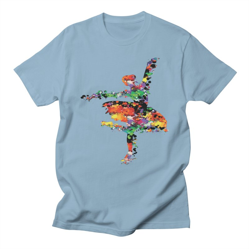 splash ballerina Men's Regular T-Shirt by cindyshim's Artist Shop
