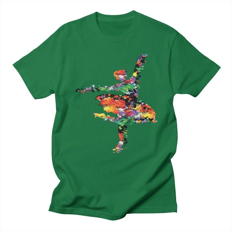 splash ballerina Men's T-Shirt by cindyshim's Artist Shop