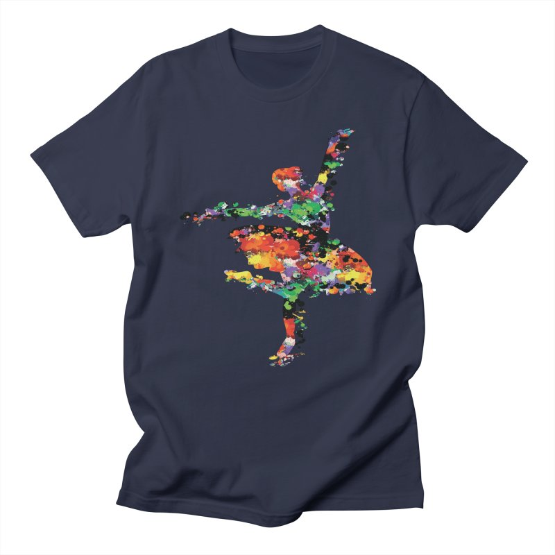 splash ballerina Women's Regular Unisex T-Shirt by cindyshim's Artist Shop