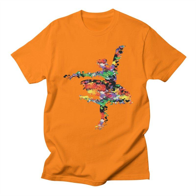 splash ballerina Men's Regular T-Shirt by cindyshim's Artist Shop