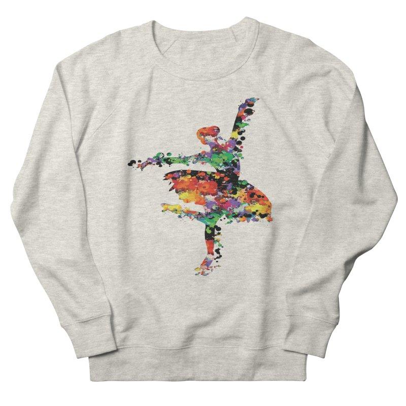 splash ballerina Men's Sweatshirt by cindyshim's Artist Shop