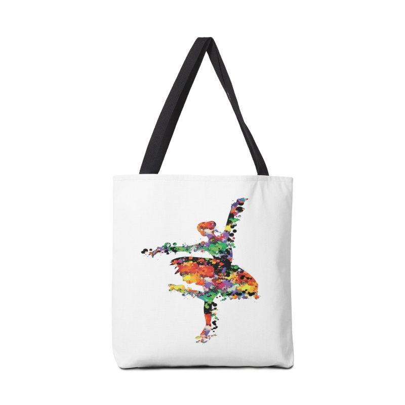 splash ballerina Accessories Tote Bag Bag by cindyshim's Artist Shop