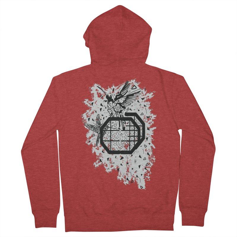 Save the birds Men's French Terry Zip-Up Hoody by cindyshim's Artist Shop